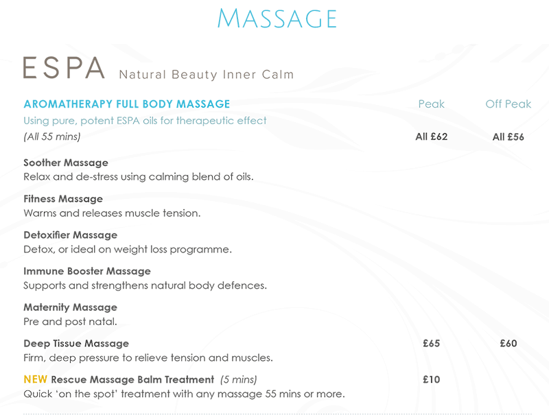 Northwood Massage