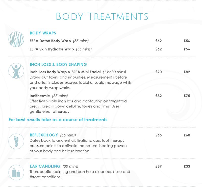 Northwood Body Treatments
