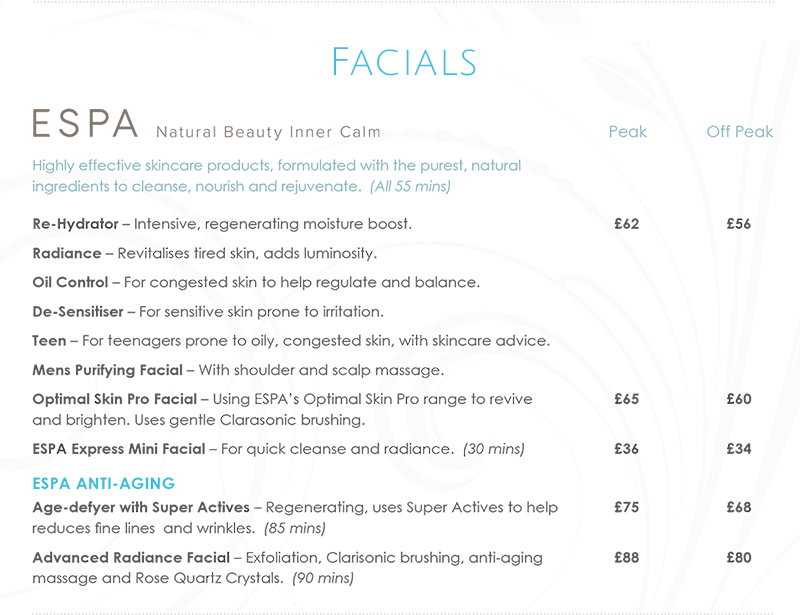 Northwood Facial