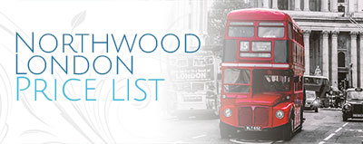 Northwood-london-spa-pricelist
